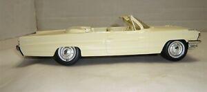 VINTAGE AMT 1961 PONTIAC BONNEVILLE CONVERTIBLE PROMO CAR