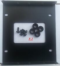 """2.5""""- 3.5"""" HDD mounting  bracket Lot 2 for SSD HDD, shock absorber, 8 screws"""