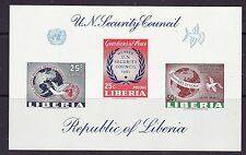 Liberia # 395 C130 50 C of C131 2nd SS United Nations MNH See note after # C131