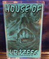 House of Krazees - Rewinds & Remixes '97 BLUE Cassette Tape twiztid HOK r.o.c.