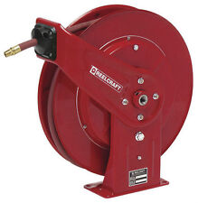 "Reelcraft 7670 OLP 3/8"" X 70' Retractable Air/Water Hose Reel"