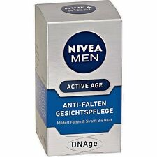 *NEW* NIVEA MEN Active Age Anti-Wrinkle Facial Care DNAge 50 ml **FROM GERMANY**