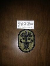 US Army Medical Command Shoulder Sleeve Patch 4 Each