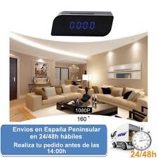 Despertador con camara de seguridad espia con wifi 1080p hd (Envio express)