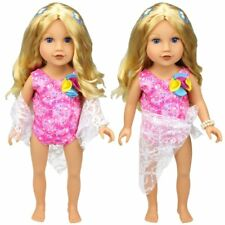 "Doll Clothes Swimwear Swimsuit for 18"" American Girl Our Generation My Life Doll"