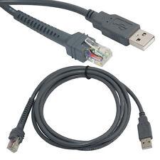 2M/6.6 FT Câble USB pour icône Lecteur de codes à Barres LS1203 LS2208 LS4208 AP