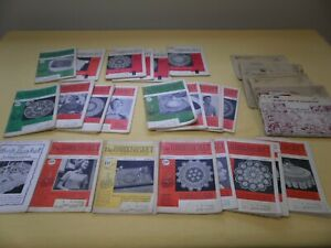 Vintage The Workbasket Sewing Books Patterns 1950's Lot of 25/6 Mail Transfers/+