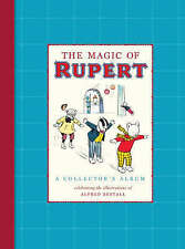 The Magic of  Rupert Collector's Album with Alfred Bestall illustration  H/Back