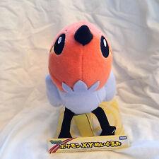 """Officially Licensed Nintendo POKEMON 7"""" FLETCHING plush by Takara Tomy"""