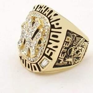 2000 Derek Jeter Championship Ring baseball sport team gold US size 8-13