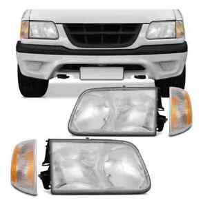 Isuzu Hombre Chevy S10 set Headlight Turn Signal parking lamp