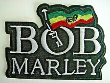 Bob Marley Logo Embroidered Patch -New
