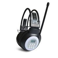Eg _ HRD-308S Portable sans Fil Numérique Casque 50-108MHz Radio Fm Stéréo T
