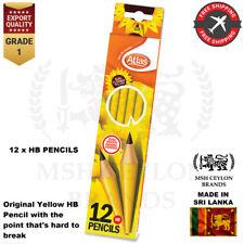 Atlas Sunflower Yellow HB Pencils High Quality 1 box (12Pens) Sketch Art Drawing