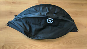 Babystyle Oyster Carrycot Hood - Black - Oyster Plush Leatherette Finish