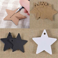 DIY Wedding Favors Party Supplies Kraft Paper Hang Tag Gifts Package Label Star