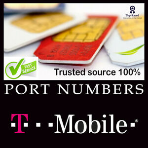 T-Mobile Numbers for Port | Numbers to Port T-Mobile | Area Code| 4-72 hrs