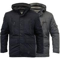 Boys Jacket Soul Star Kids Coat Padded Hooded School Lined Casual Winter New