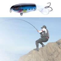 Fishing Lures Lot Minnow Fish Bass Tackle Hooks Bait Crankbait Wobbler
