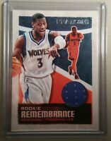 Kris Dunn 2019-20 Panini NBA Hoops ROOKIE REMEMBRANCE JERSEY RELIC TWOLVES MINT!