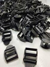 """1"""" Strap Adjusters 3/4"""" Inside Dimension Black 250 count!"""