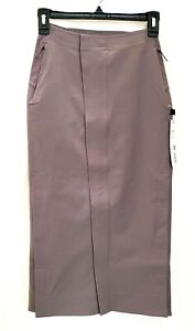 Lululemon LAB Kosaten Skirt Size 2  Lunar Rock $158 NEW WITH TAGS