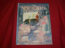 1986 JANUARY 20 NEW YORKER MAGAZINE FRONT COVER ONLY - GREAT ART FOR FRAMING