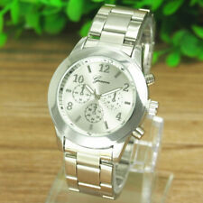 Hot Fashion Womens Mens Watches Stainless Steel Analog Quartz Wrist Watch Cheap