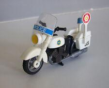 PLAYMOBIL (K4107) POLICE - Moto de Patrouille 3489 3564