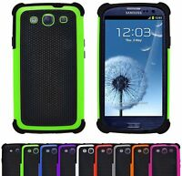 Shock Proof Heavy Duty Tough Armour Rugged Hard Case Cover For Samsung Galaxy S3