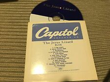 JESUS LIZARD - BLUE CD USA PROMO CARD SLEEVE ALTERNATIVE - INDIE ROCK CAPITOL 98