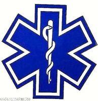"Reflective Fire Ambulance Star of Life 17/"""
