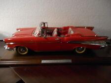 1957 Danbury Mint Chevrolet Bel Air Convertible Museum Masterpiece 1:12 scale