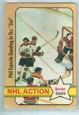 Phil Esposito 1972-73 O-Pee-Chee OPC 72 Hockey Card #76 VG NHL Boston Centre e