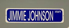 "Jimmie Johnson Highway street sign 6"" X 24""  FREE SHIPPING!"