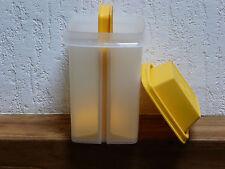 Tupperware pot à cornichons OLIVES avec ascenseur jaune