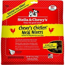 Stella & Chewy's Freeze Dried Raw Chicken Meal Mixers 3 pack 18oz