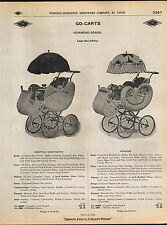 1910 ADVERTISEMENT Diamond Brand Baby Buggy Carriage Go Cart Extra Fancy