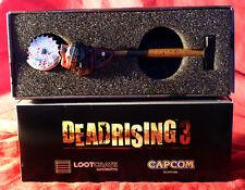 Deadrising 3 Sledgesaw Hammer Pen Miniature Replica Oct 2014 Lootcrate Exclusive