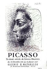 PICASSO 1964 LITHOGRAPH w/COA. stunning Pablo Picasso ART date marked by Picasso