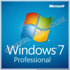 Genuine Windows 7 Professional PRO 32/64 Bit Licence Key - Lifetime FULL Version