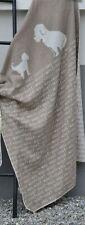 David Fussenegger Dog Blanket. Brown/Beige 40x56. Made in Austria.