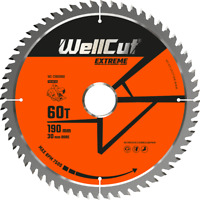 TCT Saw Wood Blade Extreme 190mm x 60T x 30mm Suitable For HS7100 C7U2 GKS190