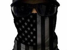 Salt Armour SA Blackout American Flag Face Shield