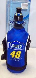 HIREV NASCAR #48 LOWES 1 LITER HELMET TOP SPORTS WATER BOTTLE JIMMIE JOHNSON