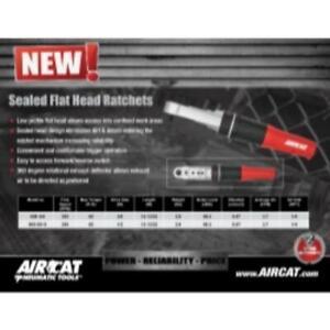 "Aircat 809-SH 3/8"" Flat Head Ratchet (809sh)"