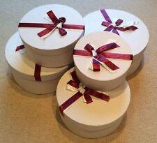 5 Large LUXURY CREPE GIFT BOX SET Beautiful + Great Quality