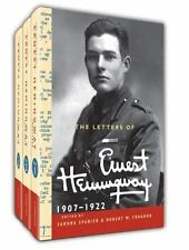 The Cambridge Edition of the Letters of Ernest Hemingway Ser.: The Letters of Ernest Hemingway, 1907-1922 by Ernest Hemingway (2015, Hardcover / Hardcover)