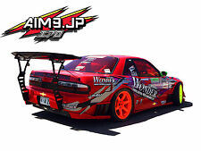 Back Mount Gt Wing Stands spoiler Aim9 Corvette Rx7 240sx S13 S14 Mustang Fd3s