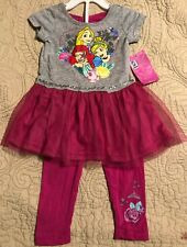 Girls Disney Princess Outfit Size 5T Nwt